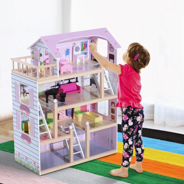 Casa delle bambole per bambini 1