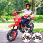 Motocross elettrica per bambini 3 colori completa di luci e suoni