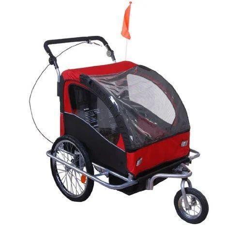 rimorchio bicicletta porta bambini 1