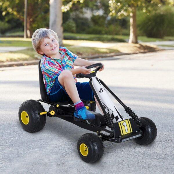 Go kart a pedali per bambini