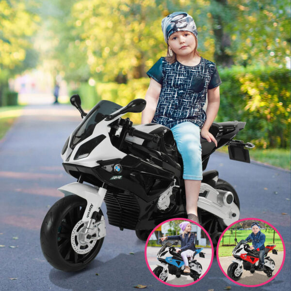 Moto elettrica per bambini modello BMW