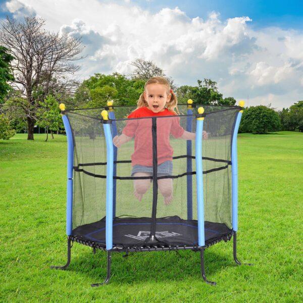 Trampolino elastico per bambini