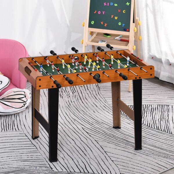 Calcio balilla per bambini in legno