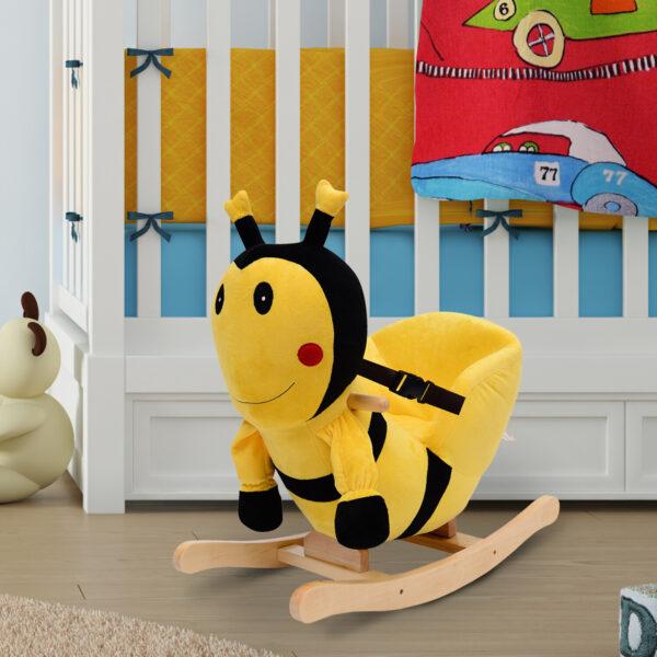 Dondolo a forma di ape