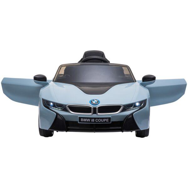 Macchinina Elettrica BMW per Bambini 3-8 anni con Telecomando Luci e Lettore MP3 Blu