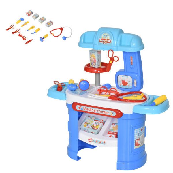 26 pezzi Set Giocattoli Dentista per bambini 3-6 anni gioco di ruolo
