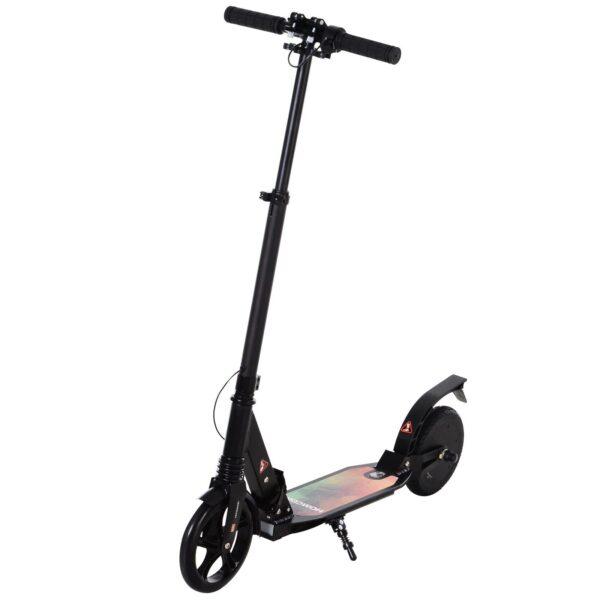 Monopattino Elettrico pieghevole con ruote grandi manubrio regolabile per adulti