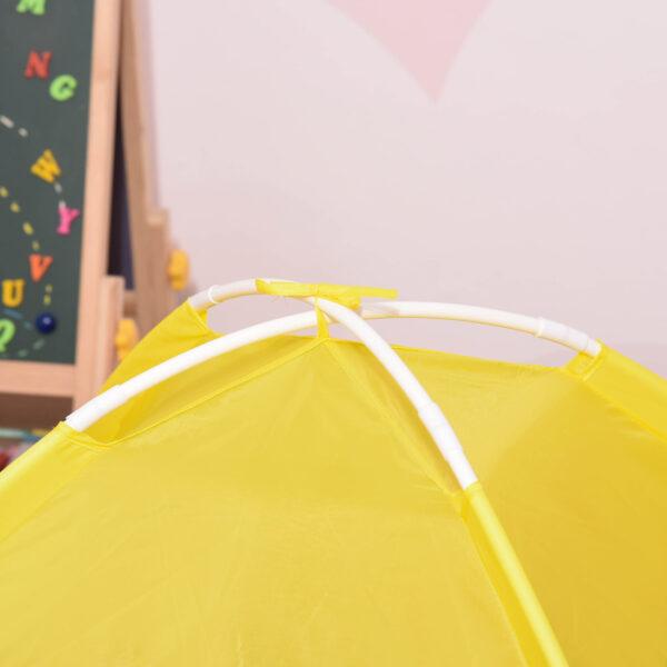 Tenda da Gioco 6 in 1 per 2-4 Bambini con Tunnel Pieghevole