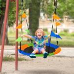 Altalena Rotonda per Bambini +3 Anni per Esterni e Interni Multicolor